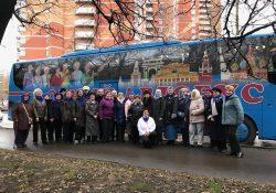 5 000 пожилых людей посетили московские музеи в рамках проекта «Добрый автобус»