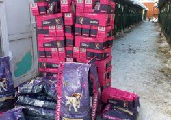 Более 12 тонн корма премиум-класса передала компания «MARS» в приюты для бездомных животных!