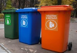 В Тольятти у гипермаркета «Лента» заработал пункт раздельного сбора отходов