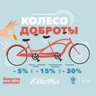 «Колесо доброты» – благотворительная акция совместно с Electra