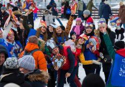 Благотворительный день в Городе зимы на ВДНХ