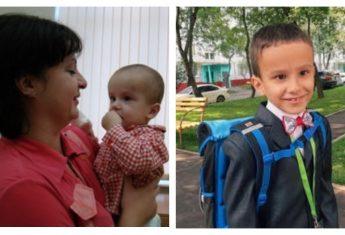 Приемный мальчик 6 лет в семье, но до сих пор помнит свою няню Роксану
