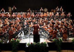 Концерт оркестра из Германии в Зеленом театре ВДНХ